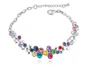 Dámsky náramok SW Crystal Multicolor