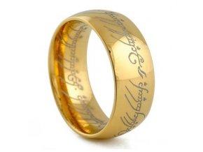 Prsteň Pán prsteňov Gold edition Lord of the Rings 1301