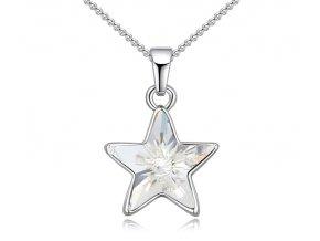 Prívesok s retiazkou - Hviezda Crystal