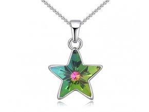 Prívesok s retiazky - Hviezda Crystal VM