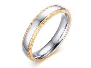 Dámsky prsteň z chirurgickej ocele