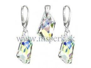 Exkluzívny set SWI crystal s modro žltým odleskom
