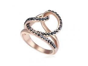 Dámsky prsteň so zirkónmi