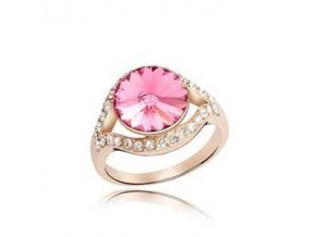 SWI crystal ring Caribbean 1649