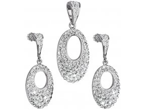 Dámsky šperk, prívesok a náušnice so Swarovski Crystal