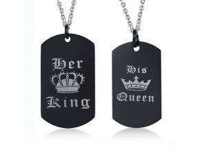 Prívesok King Queen