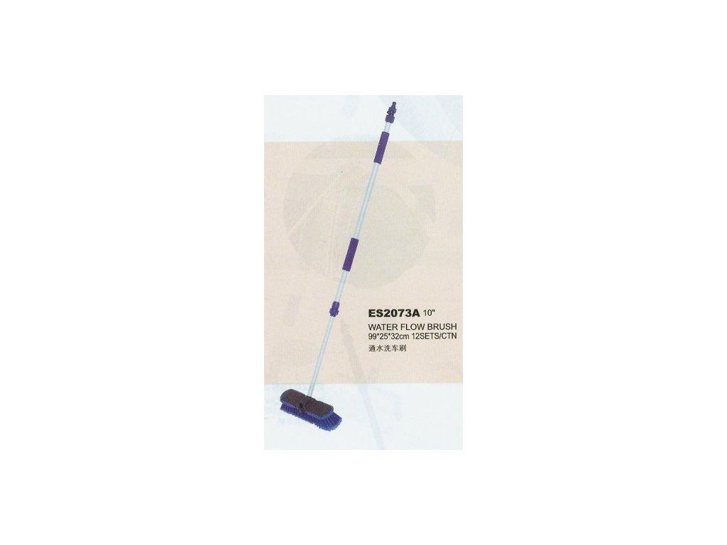 Mycí autokartáč s teleskopickou vodní trubkou, max. délka 160cm, šíře 35,5cm