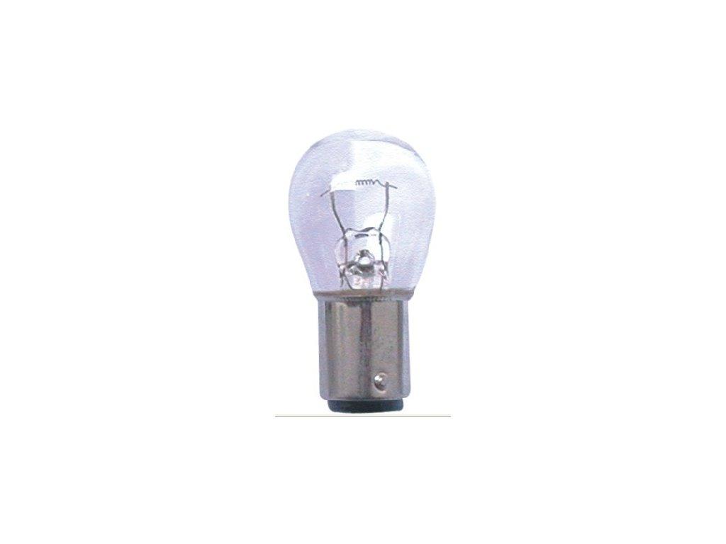 Žárovka s paticí 6V 15W Ba15s
