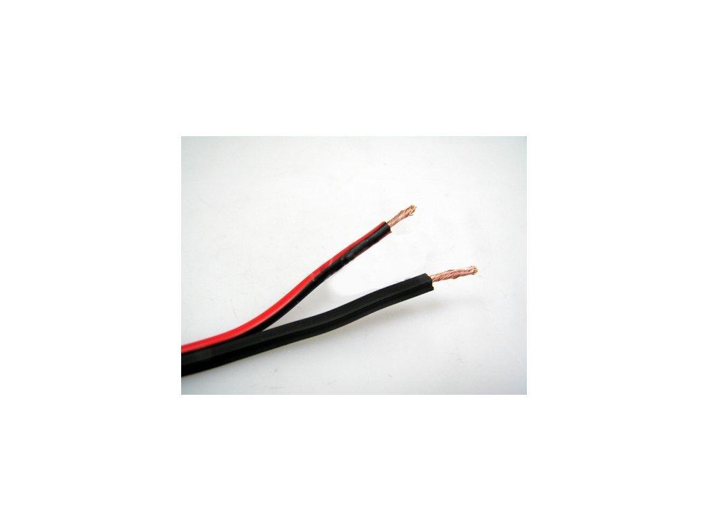 Elektroinstalační dvoulinkový kabel, průřez 1mm², cívka 100m