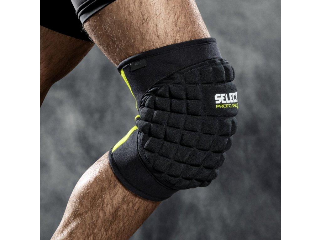 Chránič na kolena Select Knee support w/big pad 6205 černá