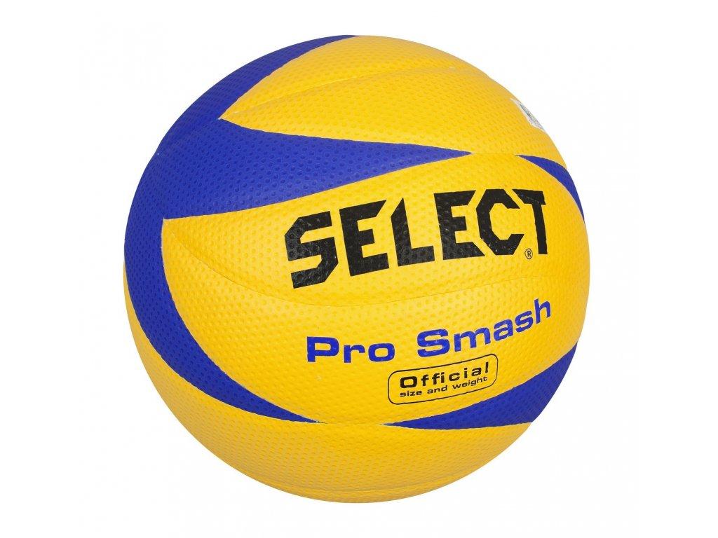Select Volejbalový míč VB Pro Smash modro žlutá