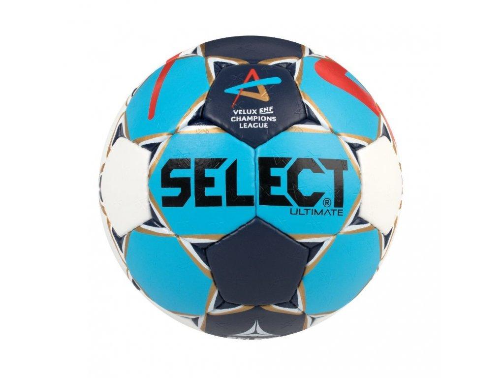 Házenkářský míč Seelct HB Ultimate Champions League Men bílo modrá