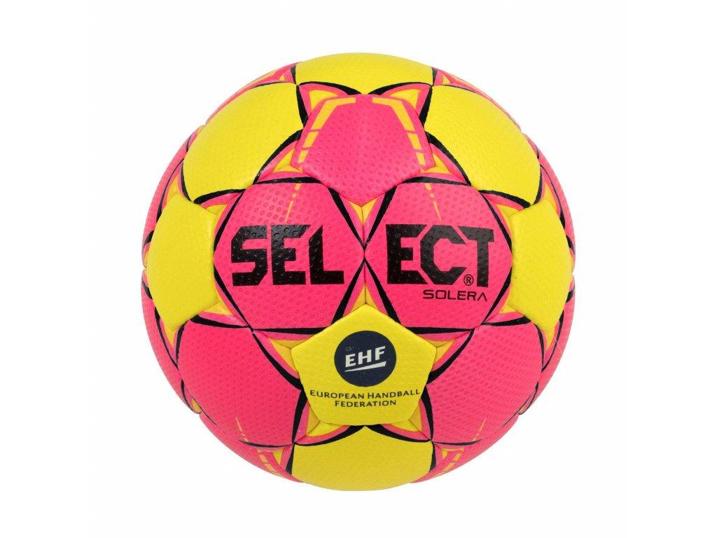 Házenkářský míč Select HB Solera žluto růžová