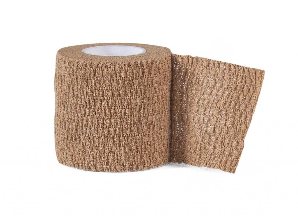 Select bandáž Stretch Bandage béžová 7,5cm