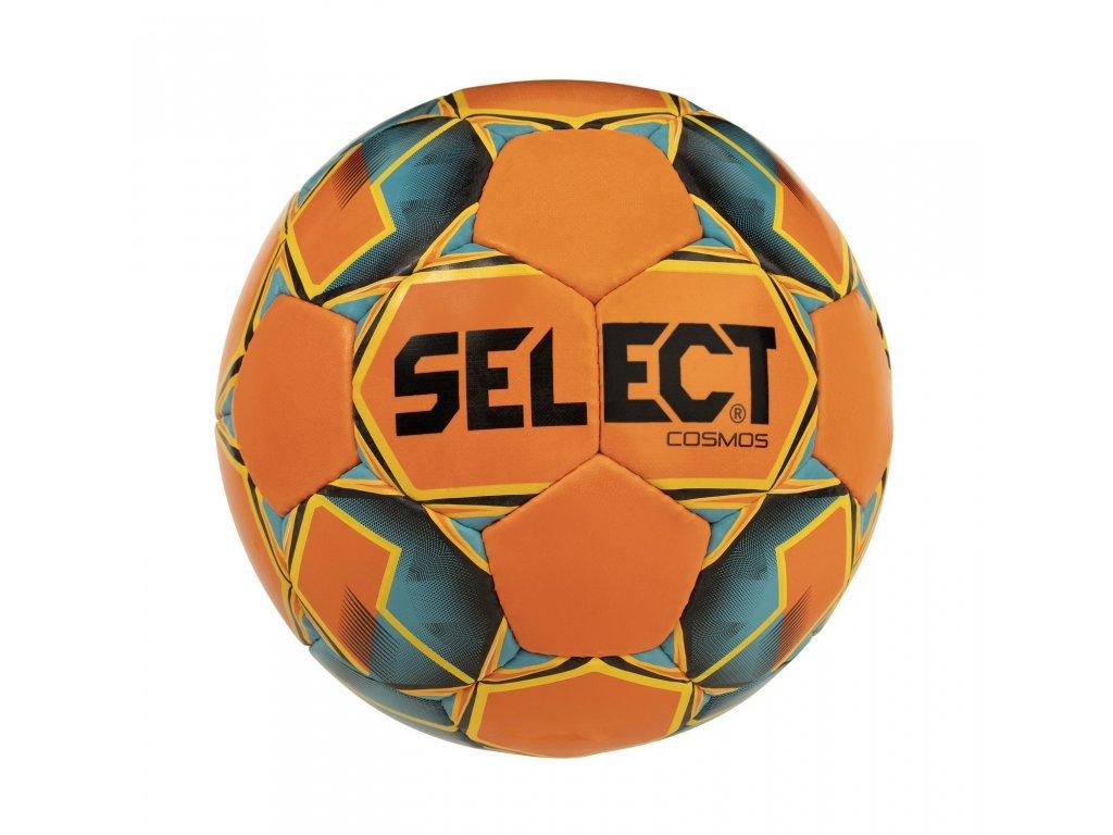 Fotbalový míč Select FB Cosmos oranžovo modrá