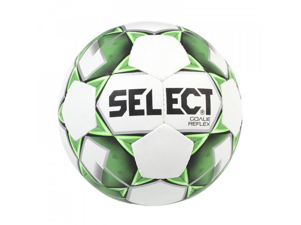 Fotbalový míč Select Fotbalový míč FB Goalie Reflex Extra bílo zelená