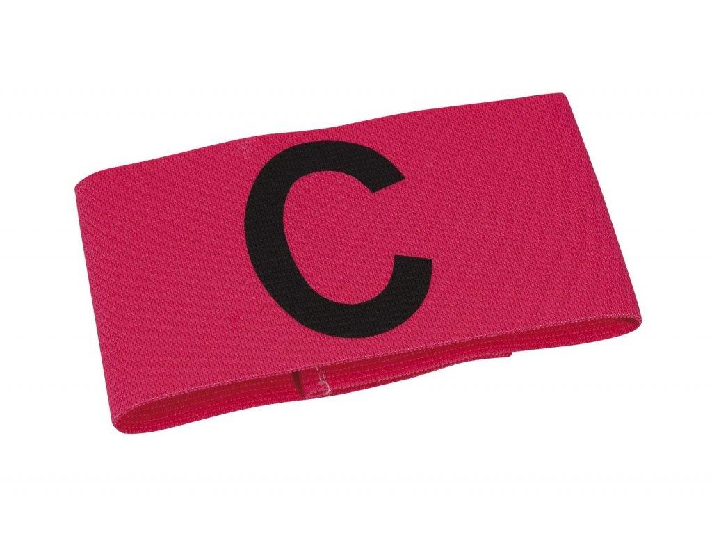 Kapitánská páska Select Captains band junior růžová