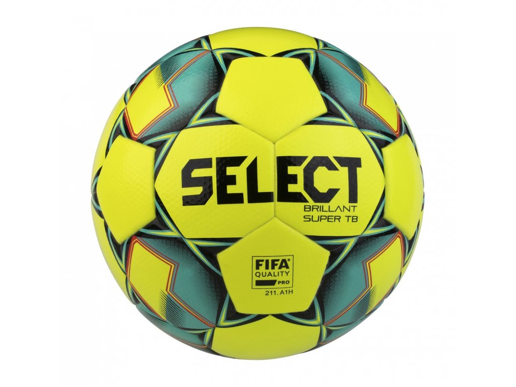 Fotbalový míč Select FB Brillant Super TB žluto zelená
