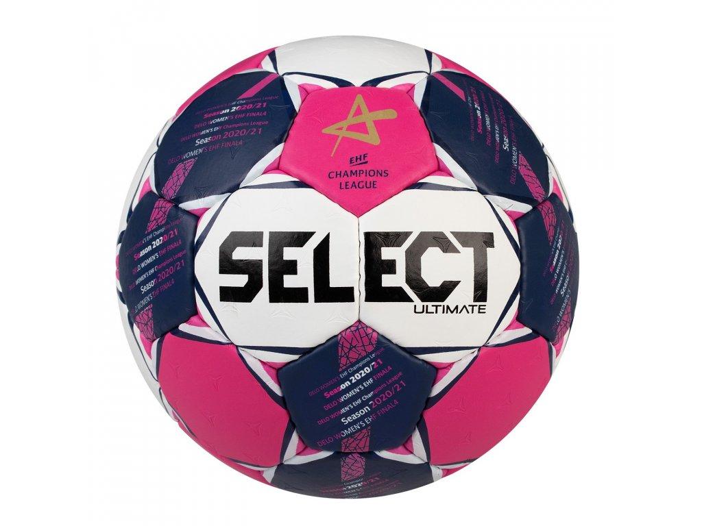 Házenkářský míč Select HB Ultimate CL Women bílo růžová