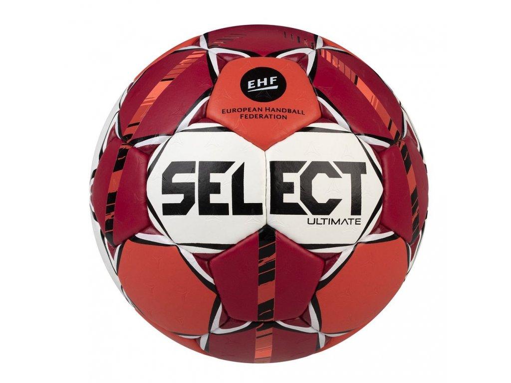 Házenkářský míč Select HB Ultimate červeno oranžová