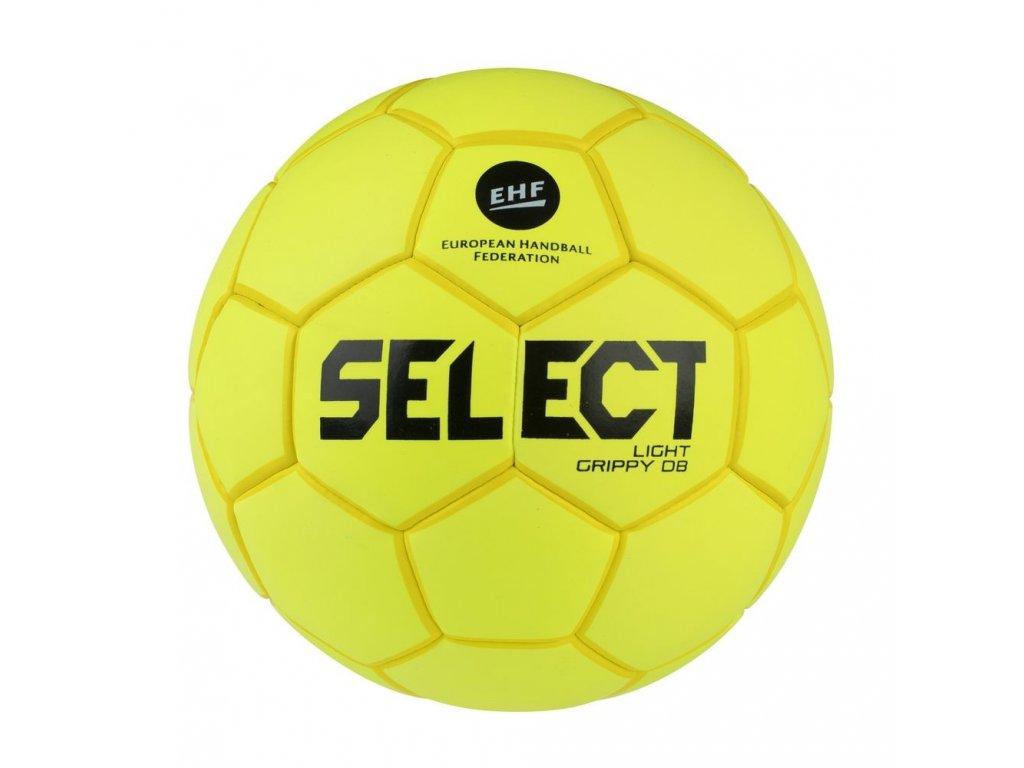 Házenkářský míč Select HB Light Grippy DB žlutá