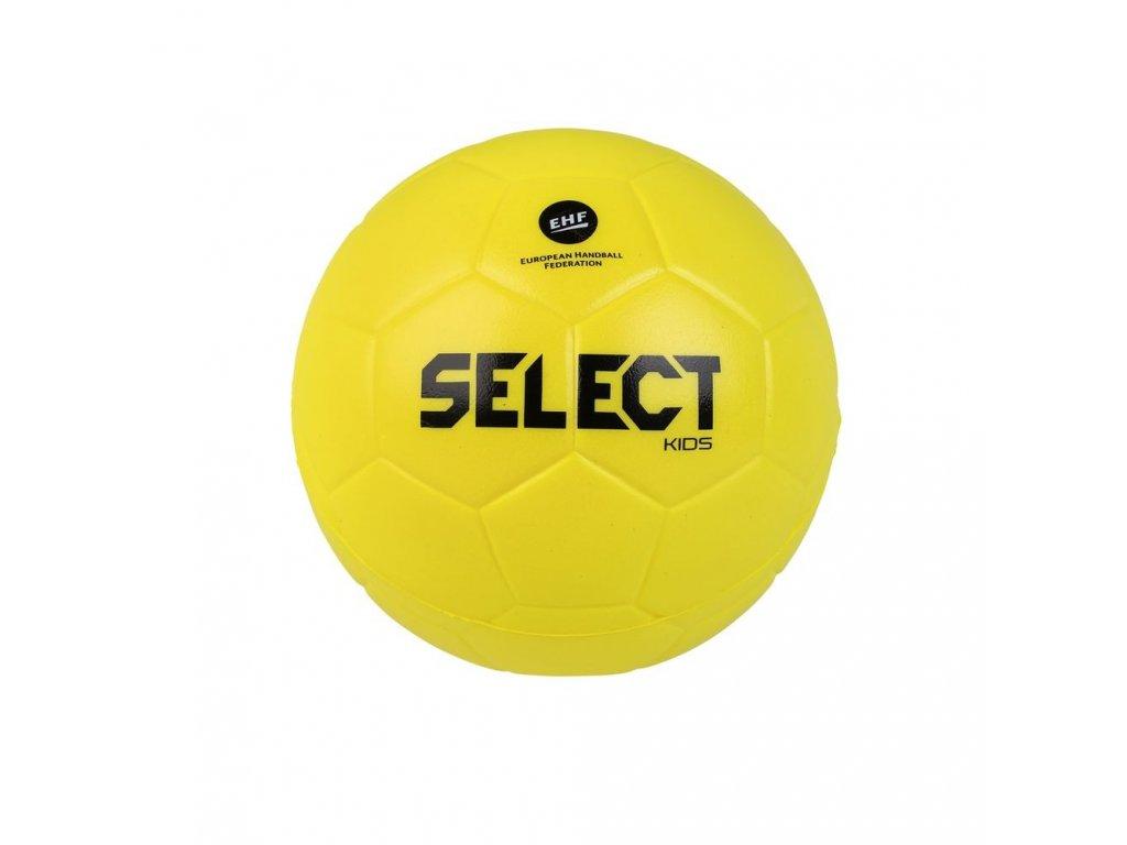Házenkářský míč Select Foam ball Kids žlutá