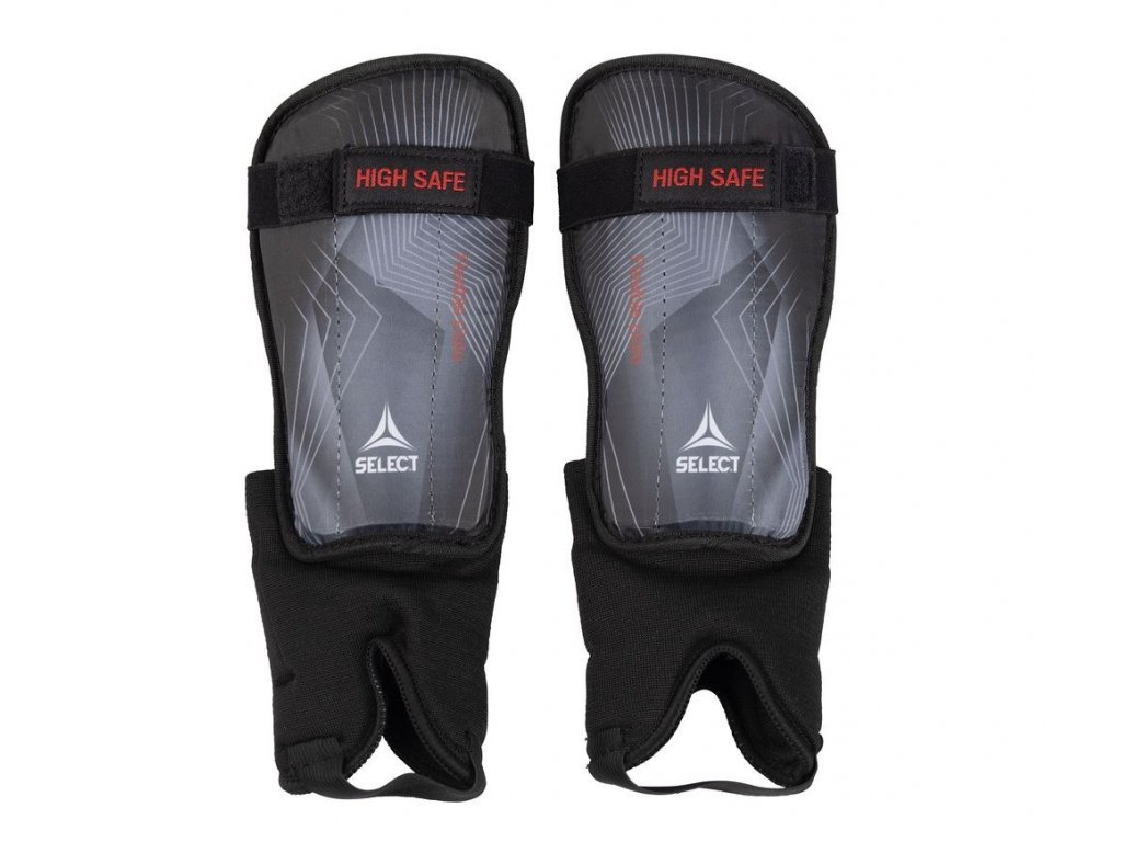 Chrániče holení Select Shin guards High Safe šedo černá