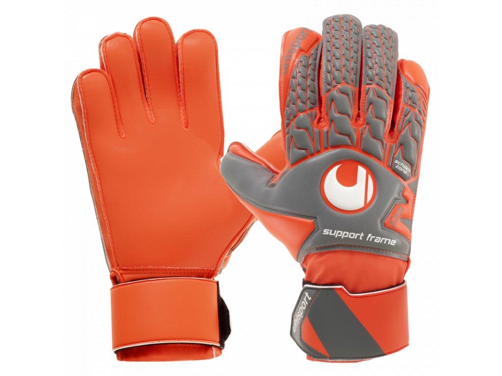 Brankářské rukavice Uhlsport AeroRed Soft SF