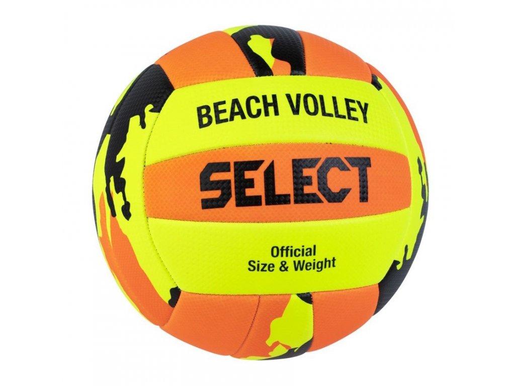 Select VB Beach Volley žluto oranžová