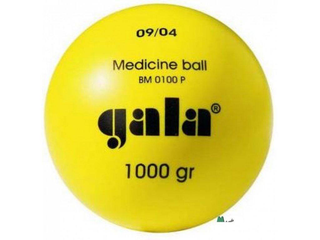 Míč medicinální Gala 1kg plast