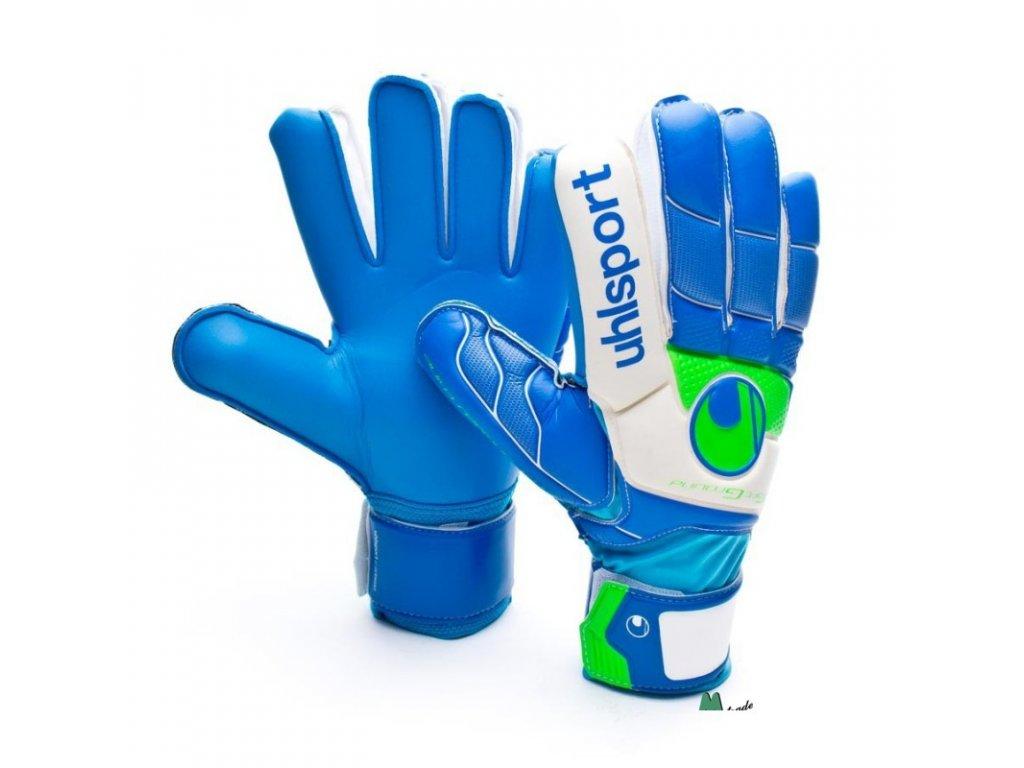 Brankářské rukavice Uhlsport Fangmaschine Soft Blue