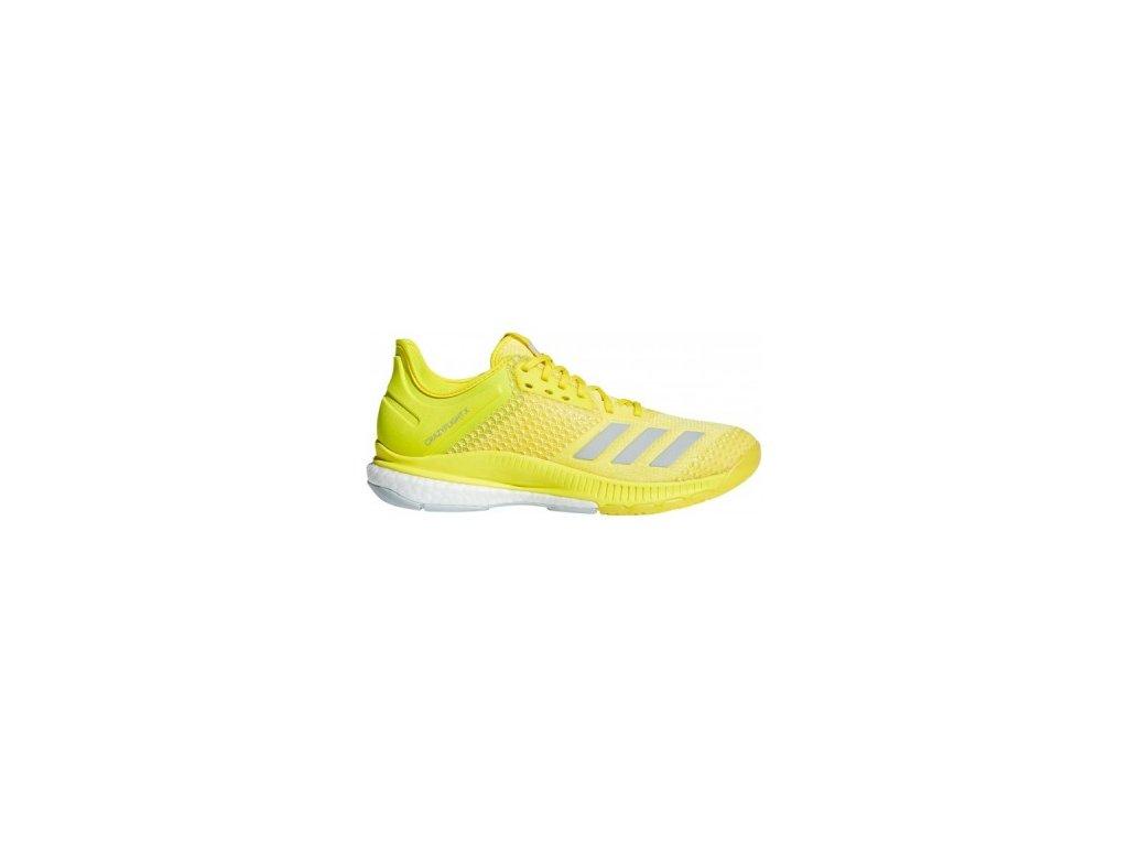 Sálová obuv Adidas CRAZYFLIGHT X 2 žluté