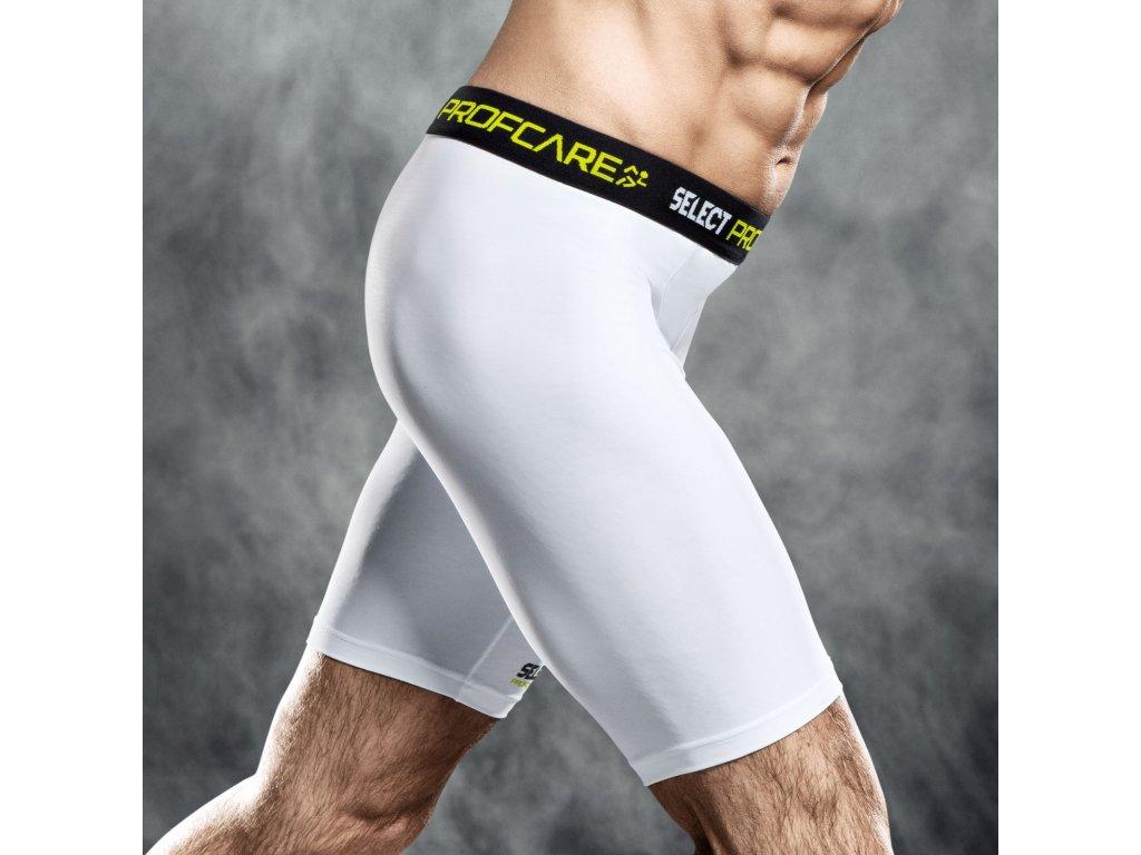 Kompresní šortky Select Compression shorts 6402 bílá