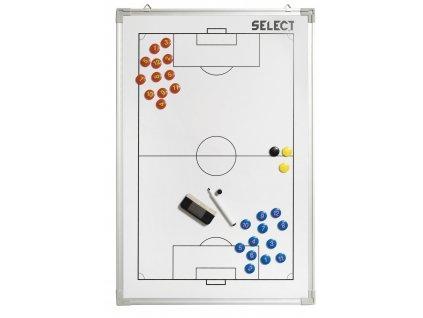 Select Taktická tabule Tactics board alu football bílá