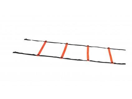 Tréninkový koordinační žebřík Select Agility ladder rubber oranžová