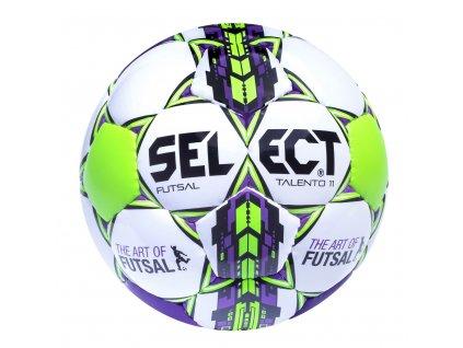 Futsalový míč Select FB Futsal Talento 11 bílo fialová
