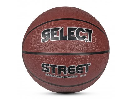 Basketbalový míč Select Basketball Street hnědá