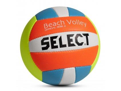 Select Volejbalový míč VB Beach Volley žluto modrá