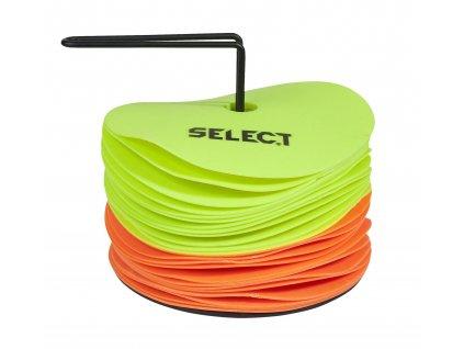 Select Značící podložky Marking mat set 24 pcs w/holder žlutá
