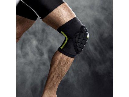 Chránič na kolena Select Compression knee support handball 6250 černá