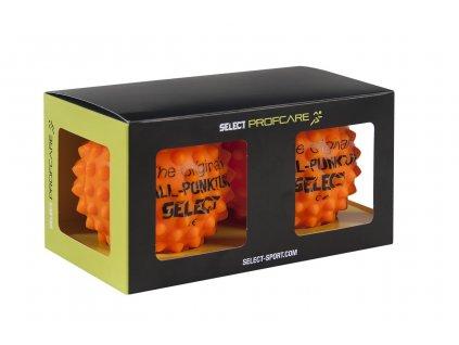 Select Masážní míč Ball-Punktur 2 pcs oranžová