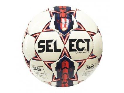 Fotbalový míč Select FB Dinamite bílo modrá