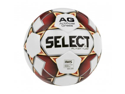 Select Fotbalový míč FB Flash Turf bílo červená