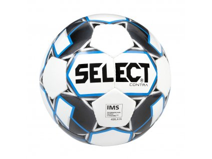 Fotbalový míč Select FB Contra bílo modrá