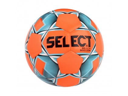 Fotbalový míč Select FB Beach Soccer oranžovo modrá