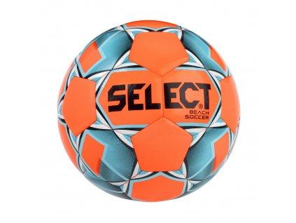 Select Fotbalový míč FB Beach Soccer oranžovo modrá