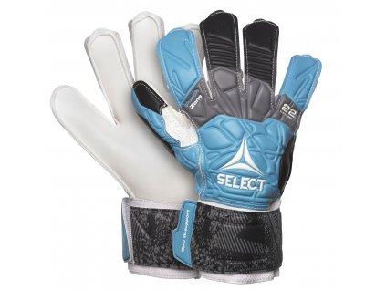 Brankářské rukavice Select GK gloves 22 Flexi Grip Flat cut modro černá