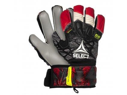 Brankářské rukavice Select GK gloves 56 winther flat cut červeno šedá