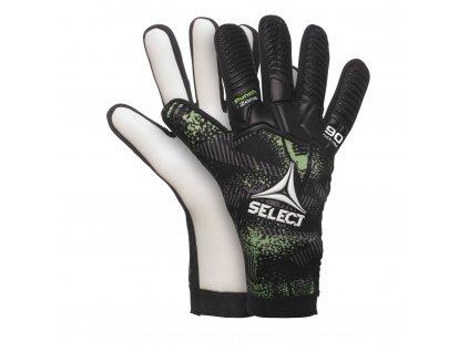 Brankářské rukavice Select GK gloves 90 Flexi Pro Negative cut černo zelená
