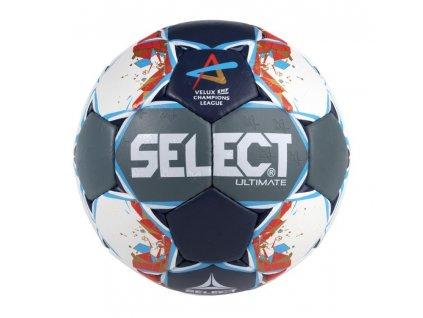 Házenkářský míč Select HB Ultimate Champions League Men šedo modrá